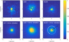"""""""Experimental study of speckle  generated by semiconductor light sources: application in double-pass images"""","""